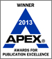 Apex Award Winner 2013